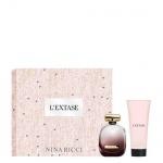 NINA RICCI L`Extase - Комплект за жени с Парфюмна вода 50 мл + Лосион за тяло 75 мл-Парфюми