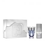 PACO RABANNE INVICTUS - Тоалетна вода 100 мл.  + Дезодорант спрей 150 мл.-Парфюми