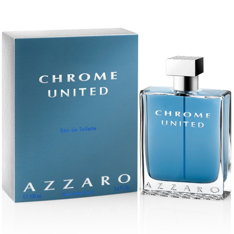 Azzaro Chrome United - Тоалетна вода за мъже ЕДТ 100 мл-Парфюми