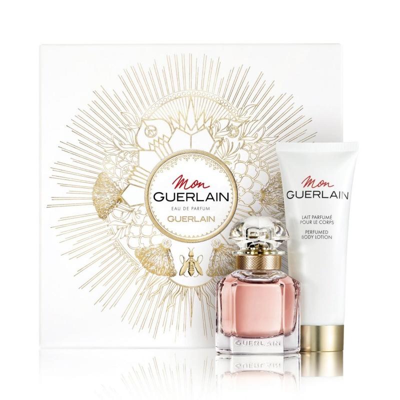 Guerlain Mon Guerlain - Комплект за жени Парфюмна вода 30 мл. + Мляко за тяло 75 мл.-Парфюми