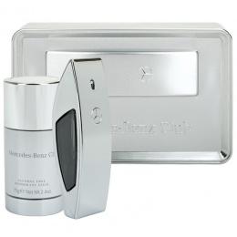 Комплект за мъже Mercedes-Benz Club - Тоалетна вода EDT 50 мл + Део-стик DEO 75 гр -Парфюми