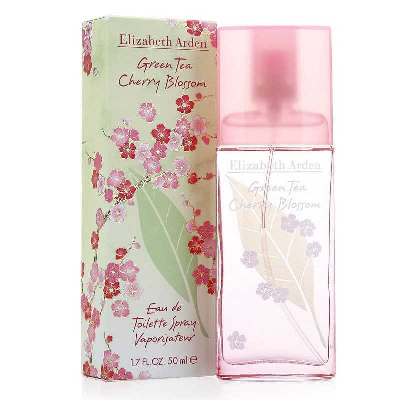 Elizabeth Arden Green Tea Cherry Blossom  Тоалетна вода за жени EDT 50 мл-Парфюми
