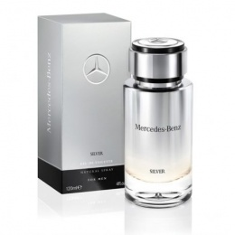MERCEDES BENZ SILVER For Men - Тоалетна вода за мъже EDT 120 мл-Парфюми