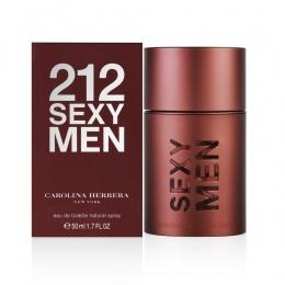 CAROLINA HERRERA 212 SEXY MAN - Тоалетна вода за мъже EDT 50 мл-Парфюми