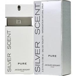 JACQUES BOGART PARIS Silver Scent Pure - Тоалетна вода за мъже EDT 100 мл-Парфюми