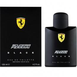 FERRARI BLACK - Тоалетна вода за мъже EDT 125 мл-Парфюми