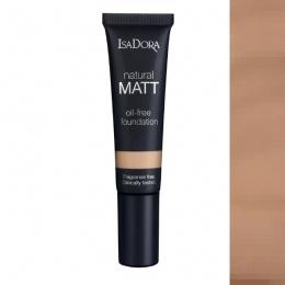 Матиращ фон дьо тен IsaDora Natural Matt 14, Matt Beige-Козметика