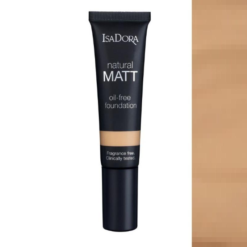 Матиращ фон дьо тен IsaDora Natural Matt 16, Matt Cream-Козметика
