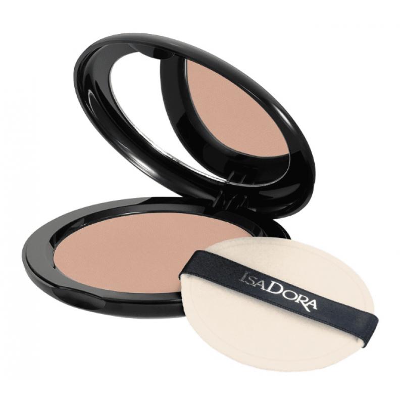 Компактна пудра IsaDora Velvet Touch 15, Medium Beige Mist-Козметика