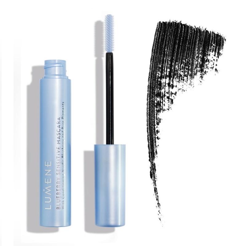 Спирала за чувствителни очи Lumene Blueberry Sensitive Mascara, Черна-Козметика