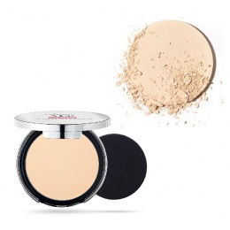 Матиращ компактен Фон дьо тен Pupa Extreme Matt Compact Powder Foundation With Natural Matt Effect 001 Ivory-Козметика