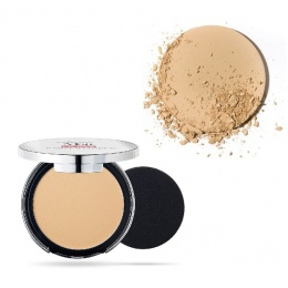 Матиращ компактен Фон дьо тен Pupa Extreme Matt Compact Powder Foundation With Natural Matt Effect 002 Dark Ivory-Козметика