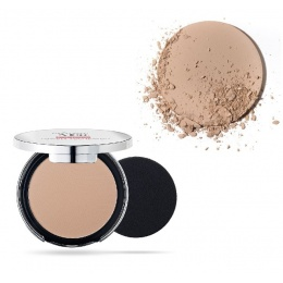 Матиращ компактен Фон дьо тен Pupa Extreme Matt Compact Powder Foundation With Natural Matt Effect 040 Natural Beige-Козметика