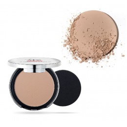 Матиращ компактен Фон дьо тен Pupa Extreme Matt Compact Powder Foundation With Natural Matt Effect 050 Sand-Козметика