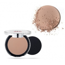 Матиращ компактен Фон дьо тен Pupa Extreme Matt Compact Powder Foundation With Natural Matt Effect 060 Golden Beige-Козметика