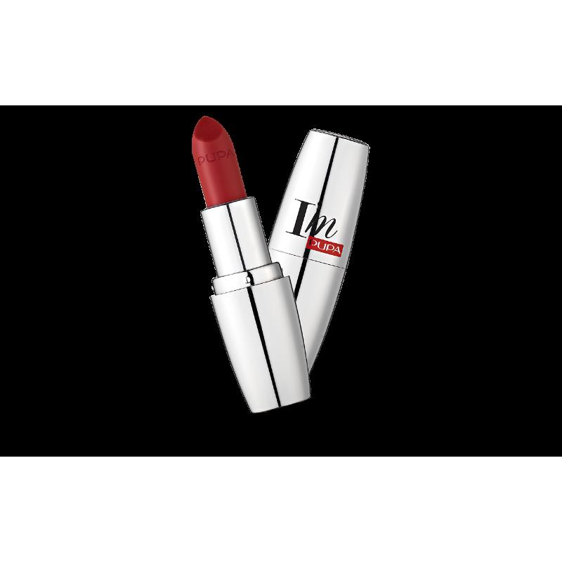 Червило Pupa I`m 307, Luxurious Red-Козметика