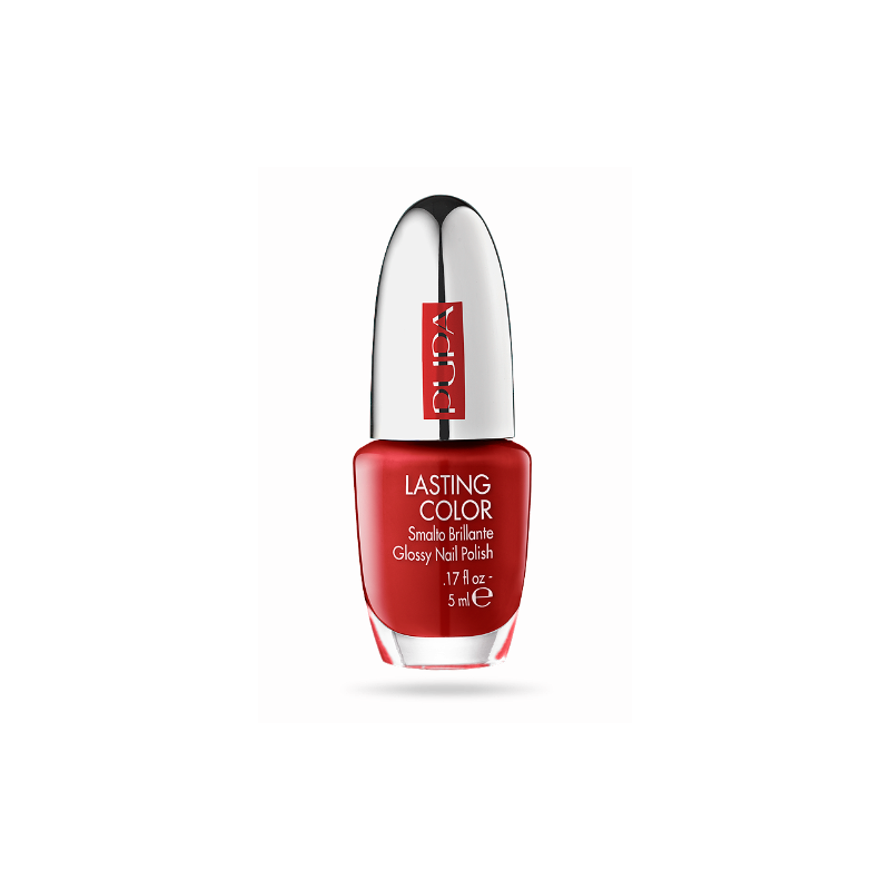 Лак за нокти Pupa Lasting Color Nail Polish 601, Red Fire-Козметика