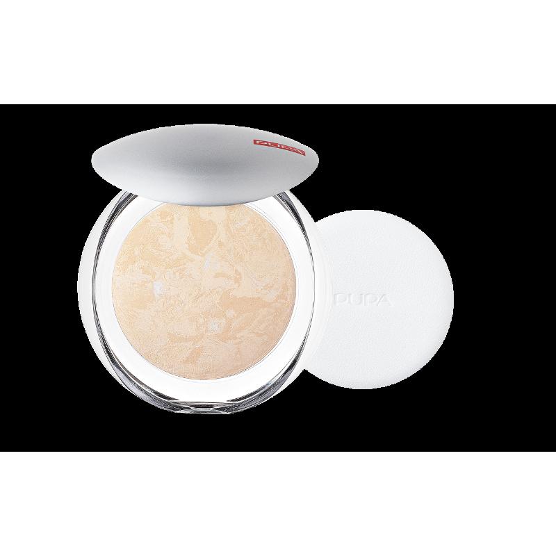 Пудра за лице Pupa Luminys Baked Face Powder 01 Ivory Beige-Козметика