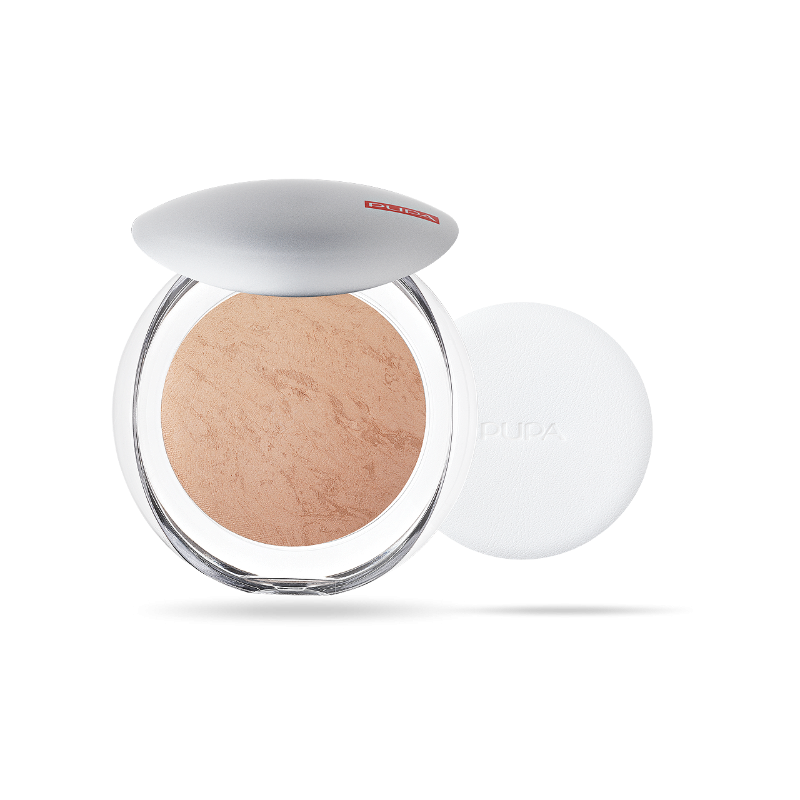 Пудра за лице Pupa Luminys Baked Face Powder 06 Biscuit-Козметика