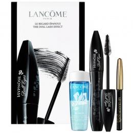 Комплект Lancome Hypnose Doll Eyes - Спирала за мигли + Молив за очи + Дегримьор-Козметика