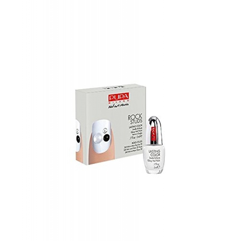 Комплект за маникюр Pupa Rock Studs Nail Art Kit 001 Black & White Studs-Козметика
