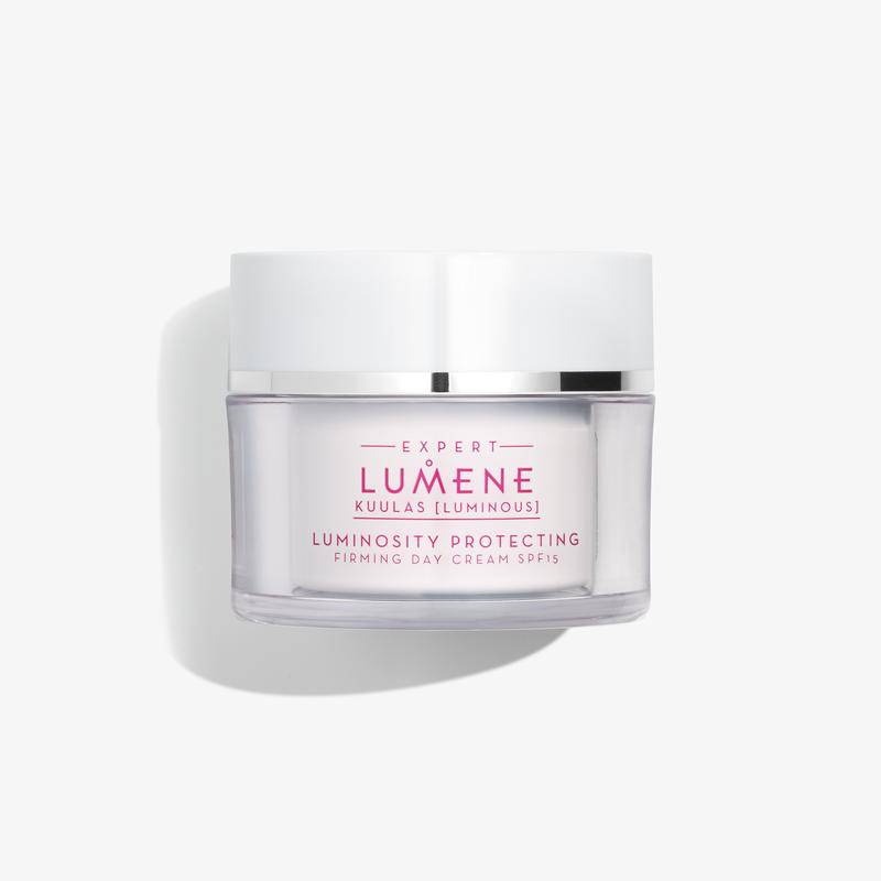 Защитен лифтинг дневен крем със защитен фактор SPF15 за всеки тип кожа - LUMENE KUULAS 50 мл-Козметика