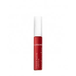 Дълготрайно матиращо червило Lumene Nordic Chic, 1 Cranberry red-Козметика