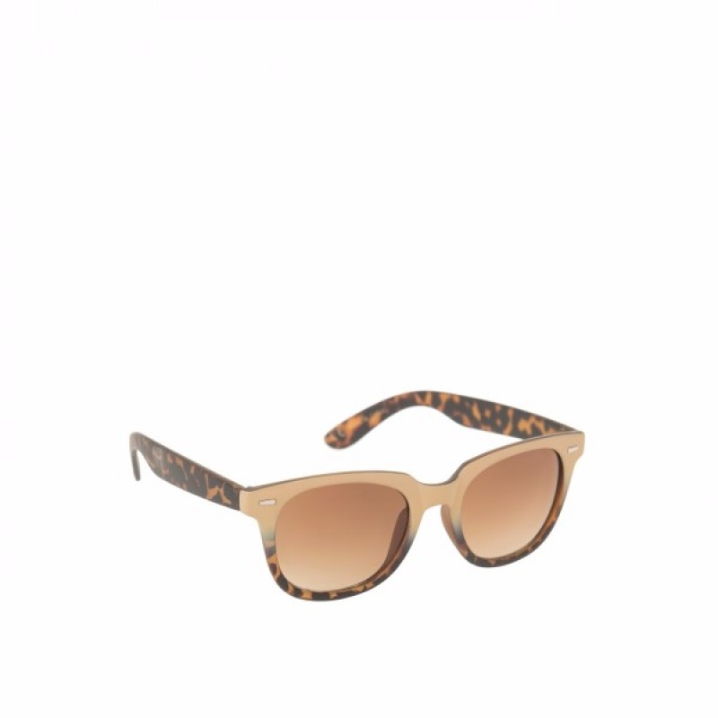 BEIGE & TURTLE SUNGLASSES - Очила Parfois 141170BE-Очила