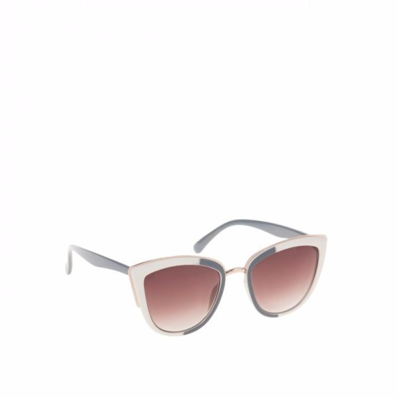GREY & IVORY SUNGLASSES - Очила Parfois 141938CI-Очила