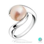 Marie - Сребърен пръстен с перла АА 10 мм 11280R-Пръстени
