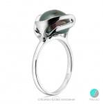 Iolanda - Сребърен пръстен с Перла АА 10.5 мм 10404-Пръстени