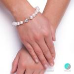 Zita гривна - гривна перли  А  9-10мм -Гривни