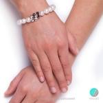 Jacklyn - Сребърна гривна с Перли 12221-Гривни