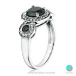 Filipa - Сребърен пръстен с Циркони 1213s-Сребърни бижута