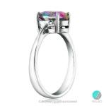 Prudence - Сребърен пръстен с Топаз 1327S-Естествени камъни