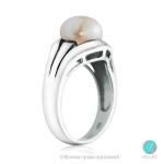 Masami - Сребърен пръстен с Перла АА 92320B-Пръстени