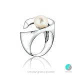 Bianca Пръстен - Перла със сребро AAA 9-9.5 мм.-Пръстени