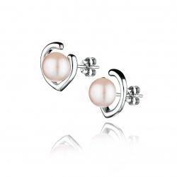 Обеци - Бижута с перли и сребро