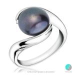 Marie - Сребърен пръстен с перла 11280-Пръстени