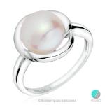 Kara - Сребърен пръстен с Перла 12284-Пръстени