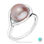 Blanca - Сребърен пръстен с Перла 12291 -Пръстени