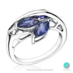 Cassandra - Сребърен пръстен с Иолит 13811811651-