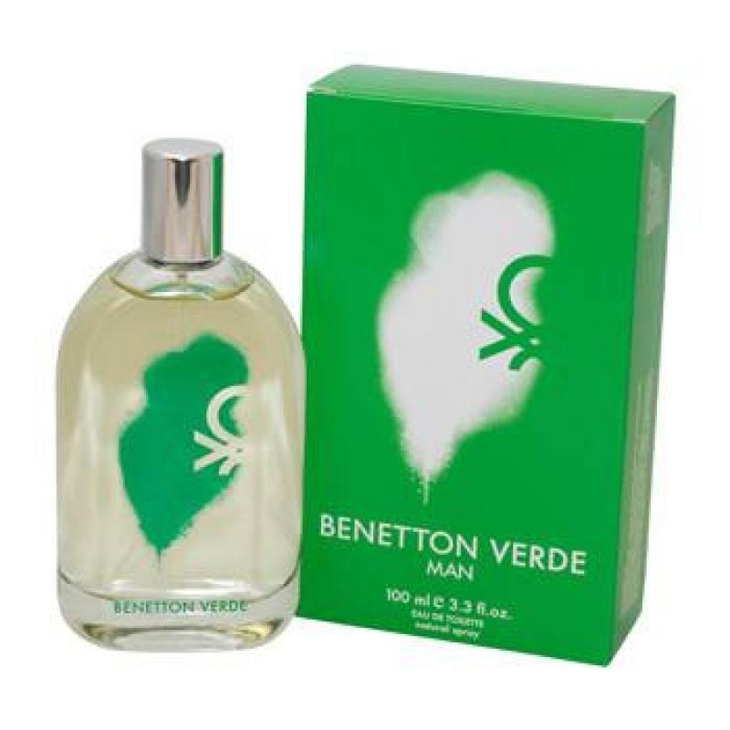 Benetton Verde - Тоалетна вода за мъже EDT 100 мл-Парфюми