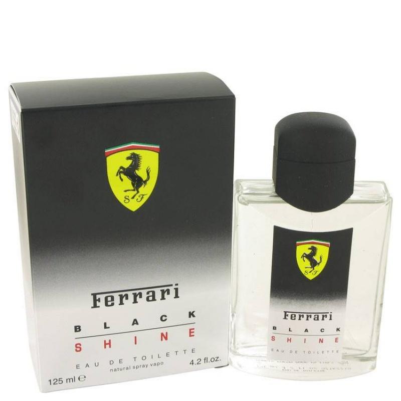 Ferrari Black Shine - Тоалетна вода за мъже EDT 125 мл-Парфюми