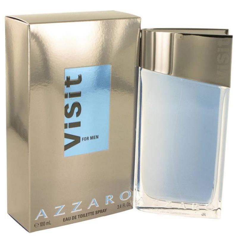 Azzaro Visit - Тоалетна вода за мъже EDT 100 мл-Парфюми
