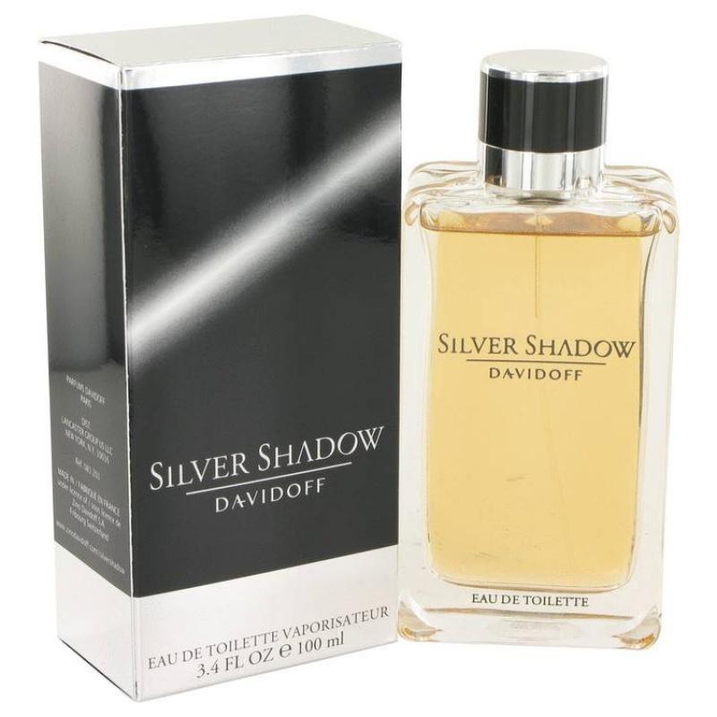 Davidoff Dav. Silver Shadow - Тоалетна вода за мъже EDT 100 мл-Парфюми