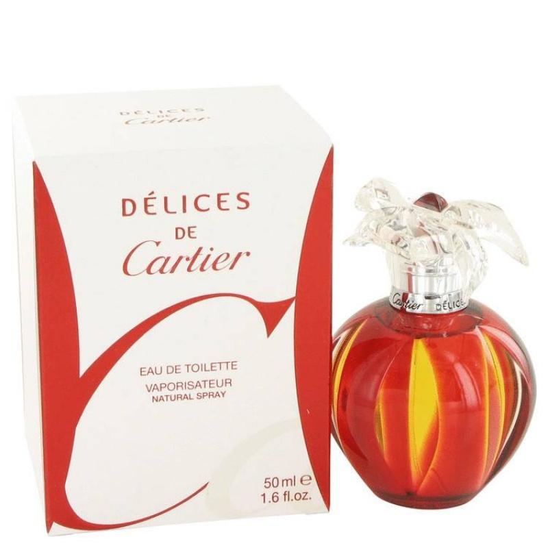 Cartier Delices - Тоалетна вода за жени EDT 50 мл-Парфюми