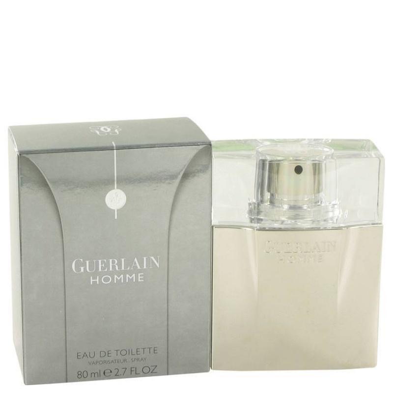 Guerlain Homme - Тоалетна вода за мъже EDT 80 мл-Парфюми