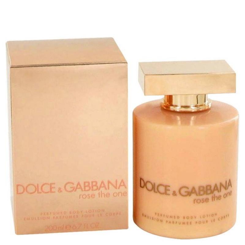 Dolce & Gabbana D&G Rose The One - Лосион за тяло за жени B/L 200 мл-Парфюми