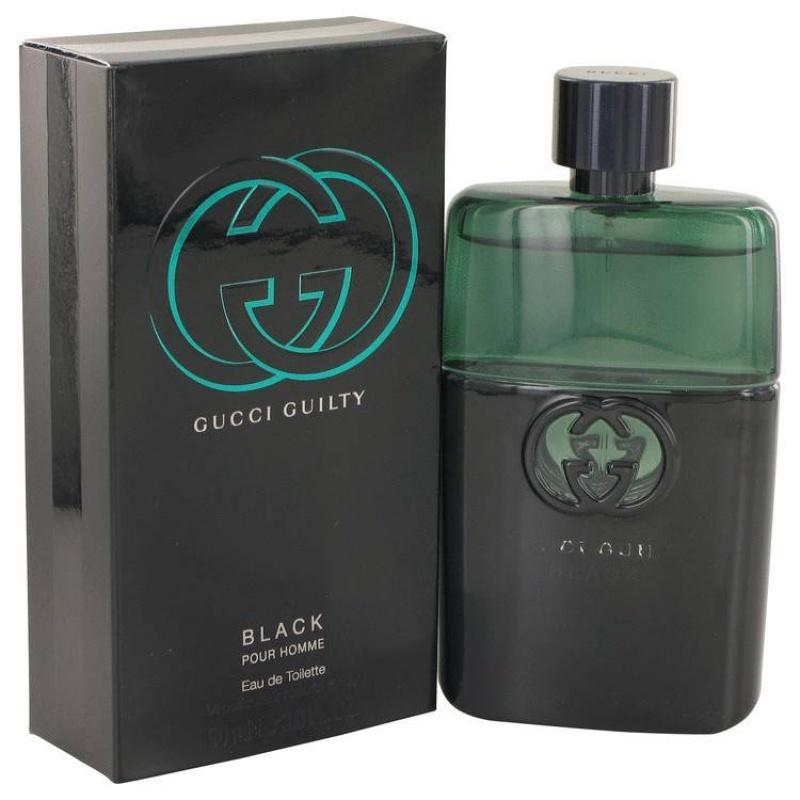 Gucci Guilty Black - Тоалетна вода за мъже EDT 90 мл-Парфюми